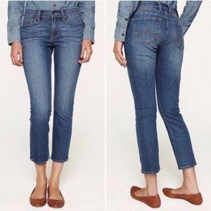 Lucky Brand Sofia Medium Wash Capri Jeans